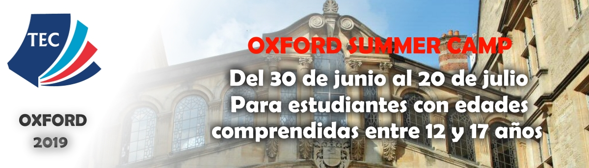 oxford summer camp 2019